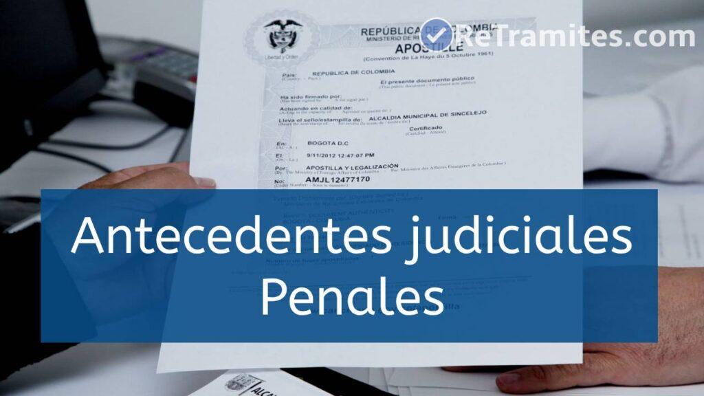 imprimir antecedentes judiciales penales