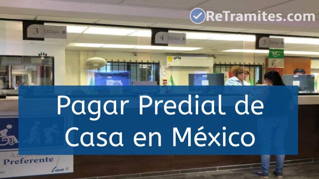 pagar predial en México